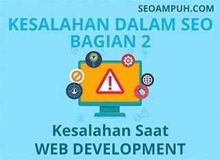 Kesalahan SEO Bagi Pemula - Web Development